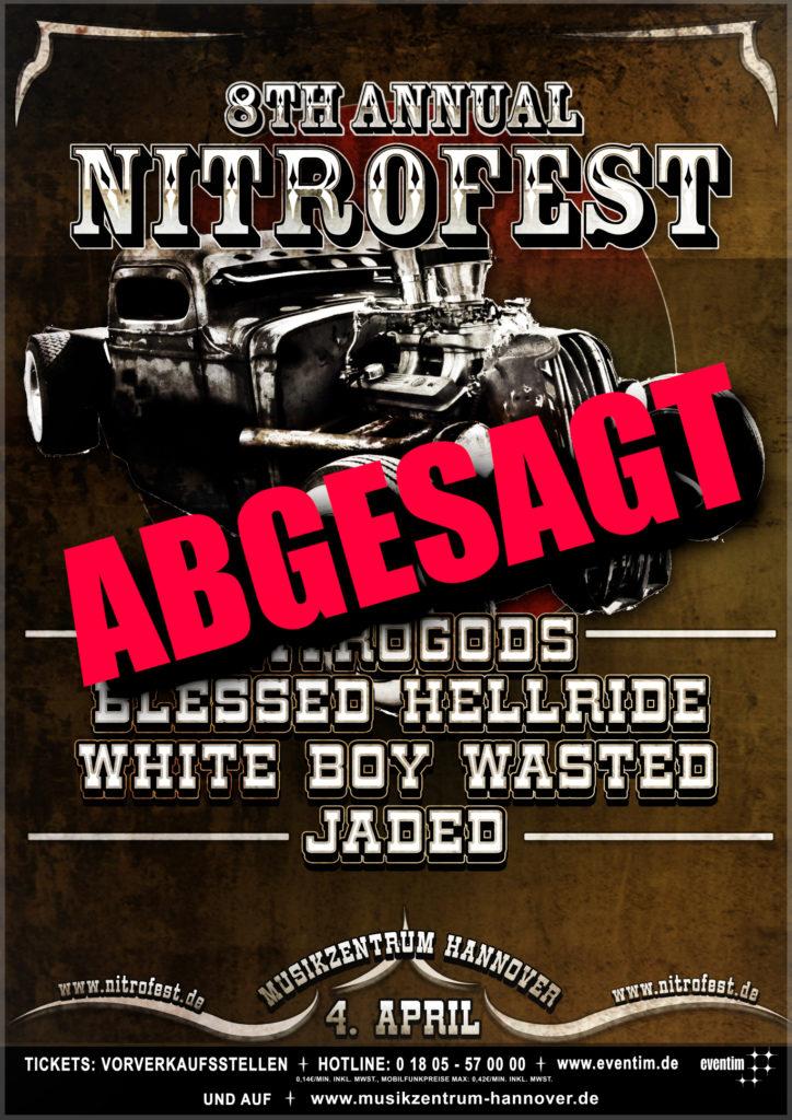 Nitrofest abgesagt
